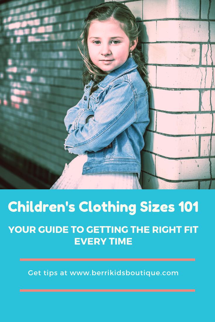 children's european sizes