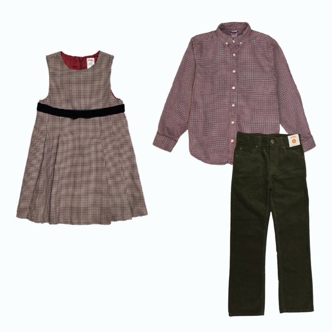 Matching Holiday Outfits for Kids
