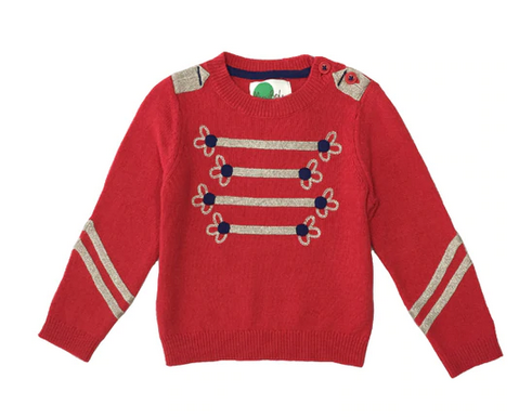 Mini Boden Girls' Holiday Sweater